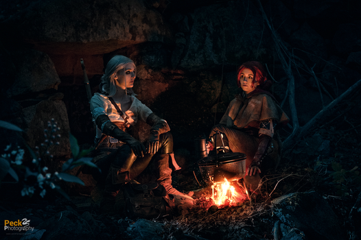 Triss and Ciri - The Witcher 3 by NunnallyLol