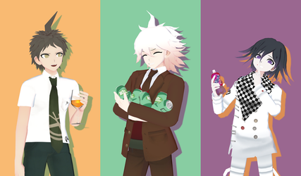 [MMD] Drinks by Snorlaxin