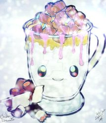 Dessertie | Hot Chocolate _ Coloured by LordMystirio