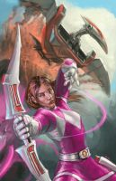 Pink Ranger by jeffszhang