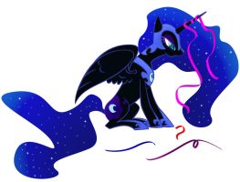 Nightmare ribbons by zomgitsalaura