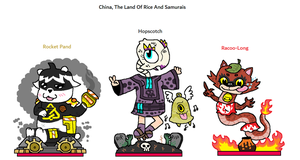 The Outcasters - China, The Land Of Rice And Samur by CheesySquidSandwich