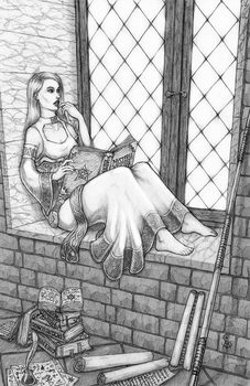 Thalia By The Window by Spacegryphon