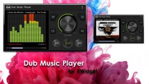 Dub Music Player for xwidget by Jimking