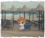 :::+ Coloring Contest , Chibi in Summer +::: by Yami-Kaira