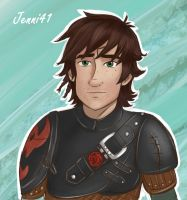 Hiccup for Axon and Faragon by Jenni41