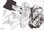 Hellsing Seres and Alucard by l3xxybaby