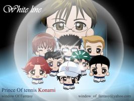 prince of tennis - white line- by Kauthar-Sharbini
