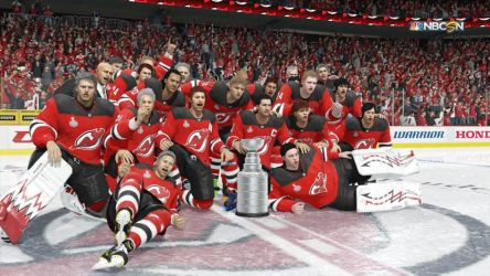 The New Jersey Devils Win the Stanley Cup by Jared-The-Rabbit