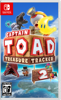 Captain Toad Treasure Tracker 2 Nintendo Switch by PeterisBeter