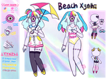 June Adopt - Beach Girl [KEEPING] by hello-planet-chan