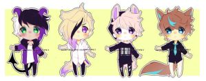 Set Price Cheeb Adopts: closed by Neon-Hazard