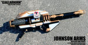 Full Size Gjallarhorn Replica from Destiny by JohnsonArmsProps