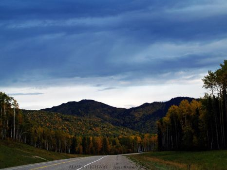 ALASKA HIGHWAY by Kittihawk11