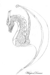 Dragon design by WhispersDreams