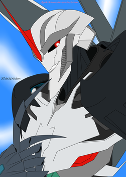 TFP Portret Starscream'a by agakikama