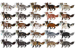 Point/Paypal Cat Adoptables (CLOSED) by Marietsloth