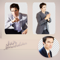 Ian Somerhalder PNG Pack by dilaygomez