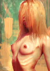 Wet ( Hd wallpaper on PATREON) by AnatoFinnstark