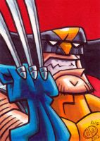 Wolverine Sketch Card by Chad73
