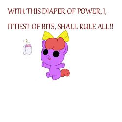Diaper of Powerrrr by I-am-to-be-myself