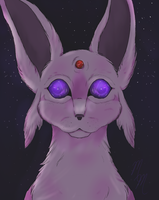 Espeon by MooshieMoo