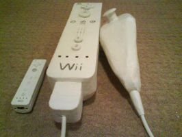 Giant Wii Remote by WillziakDS