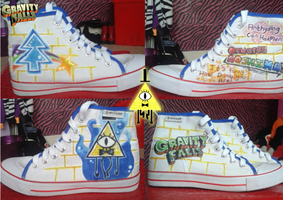 Gravity Falls Shoes by Fluffy-Hooves