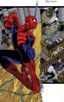 Colorist Sample: Amazing Spider-Man Annual 37 pg 1 by April-A