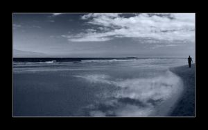 Bamburgh beach by newcastlemale