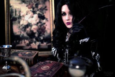 The Witcher 3: Wild hunt - Yennefer by ver1sa