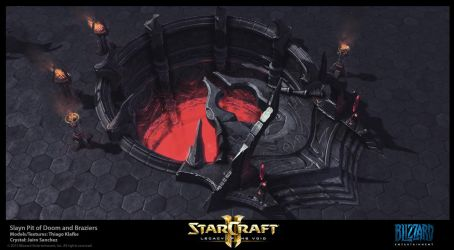 Starcraft II LotV -  Slayn Death Pit by thiagoklafke