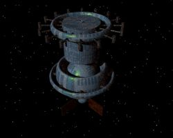Space station object by kalany