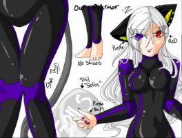 Aegis out of Armor Reference (Finished) by BlackZodiacQueen