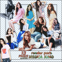 [ PACK RENDER #87] 13 PNGS JESSICA JUNG by RinYHEnt