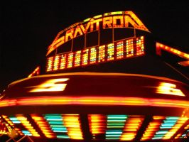 The Gravitron Just Landed by artoid