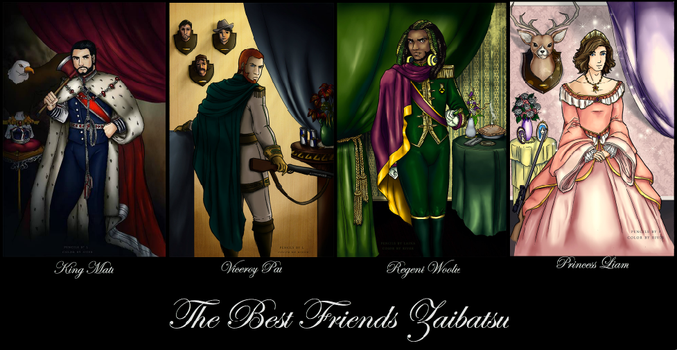 The Best Friends Zaibatsu by dawnpyro43