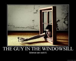 This guy in the window by Bowserkills7