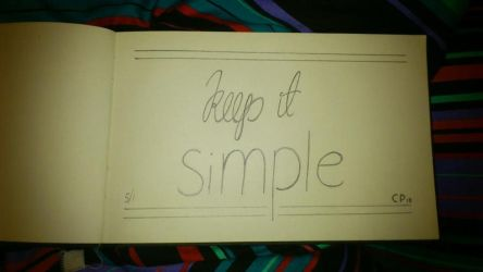 1 - keep it simple by lille-cp