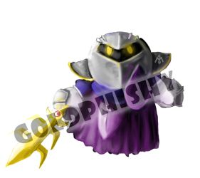 Metaknight by Goldphishy