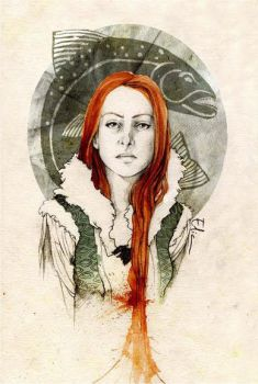 Catelyn Tully by elia-illustration