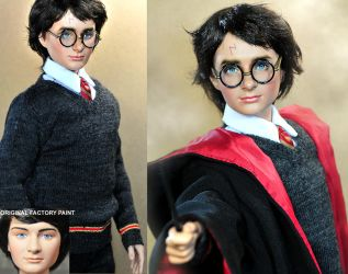 Daniel Radcliffe Harry Potter by noeling