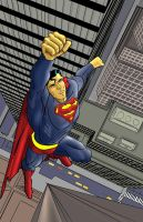 Superman by KevinG-art
