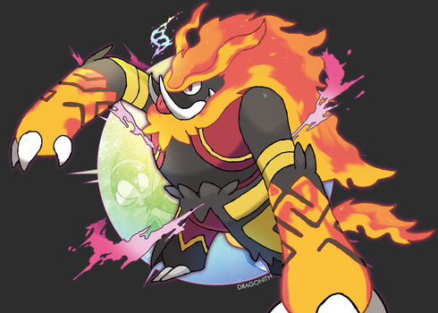 Mega Emboar (Contest Entry) by Dragonith