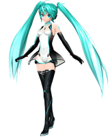Project Diva Arcade Future Tone Racing Miku 2011 by WeFede