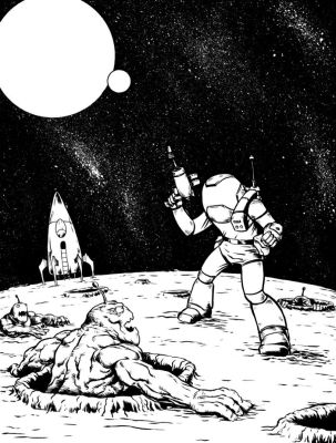 Spaceman by Comicbookist
