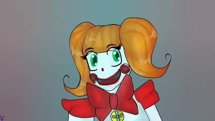 [FNAF SL] Baby??? (my design for now) by Chimera-suzy