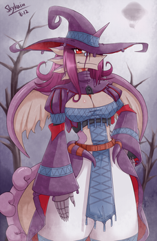 Witch in the marsh by SkyKain