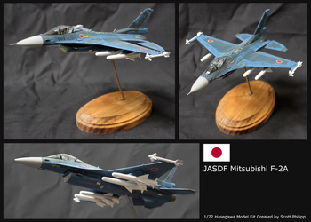 Mitsubishi F-2A Model Kit by shadowvfx