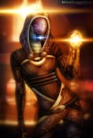 Mass Effect 2 - Tali by OrbitalWings
